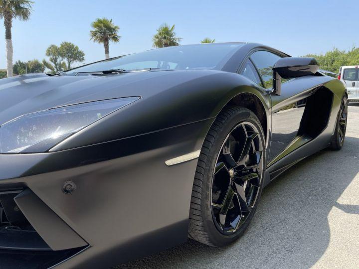 Lamborghini Aventador LP 700-4 Coupé Nero Pegaso * pas de malus * en stock  NOIR MAT COVERING  - 5