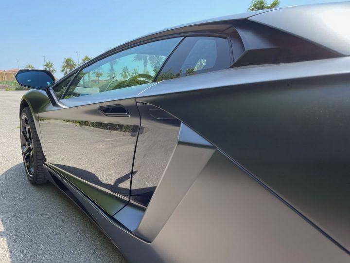 Lamborghini Aventador LP 700-4 Coupé Nero Pegaso * pas de malus * en stock  NOIR MAT COVERING  - 6