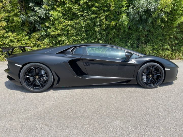 Lamborghini Aventador LP 700-4 Coupé Nero Pegaso * pas de malus * en stock  NOIR MAT COVERING  - 7