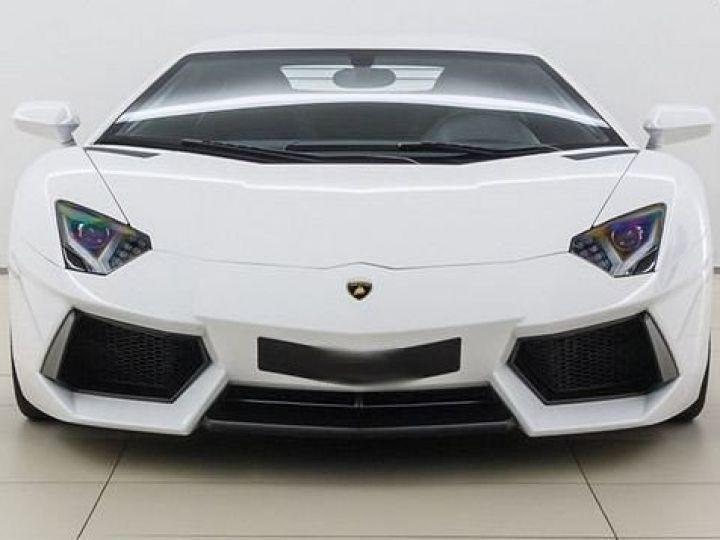 Lamborghini Aventador LP700-4 e-gear  blanc - 4