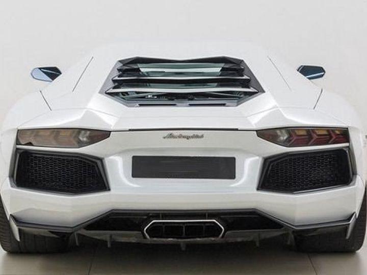 Lamborghini Aventador LP700-4 e-gear  blanc - 5
