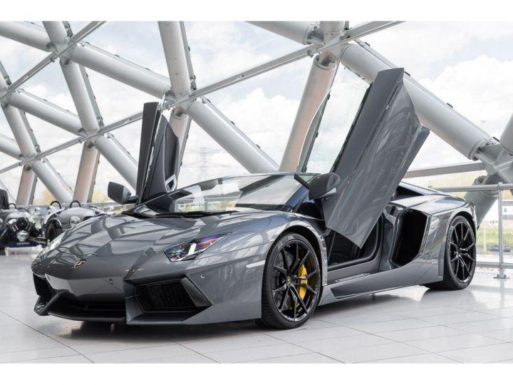 Lamborghini Aventador spider pot akrapovic GRIS - 2