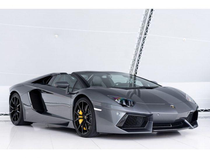 Lamborghini Aventador spider pot akrapovic GRIS - 3