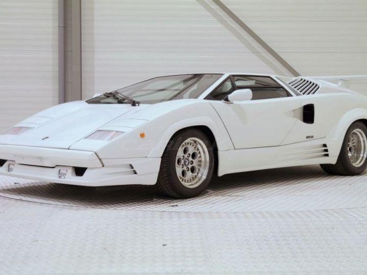 Lamborghini Countach 25th anniversary BLANC - 1