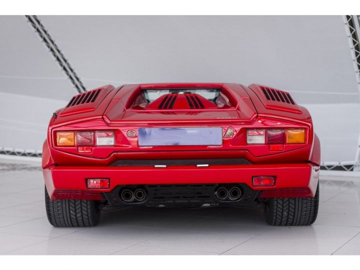 Lamborghini Countach 25th anniversary rouge - 4