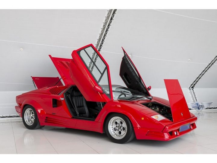 Lamborghini Countach 25th anniversary rouge - 12