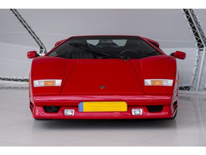 Lamborghini Countach 25th anniversary rouge - 14