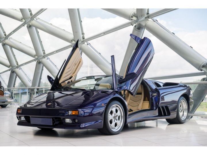 Lamborghini Diablo Roadster 5.7l V12 VT VIOLET - 1