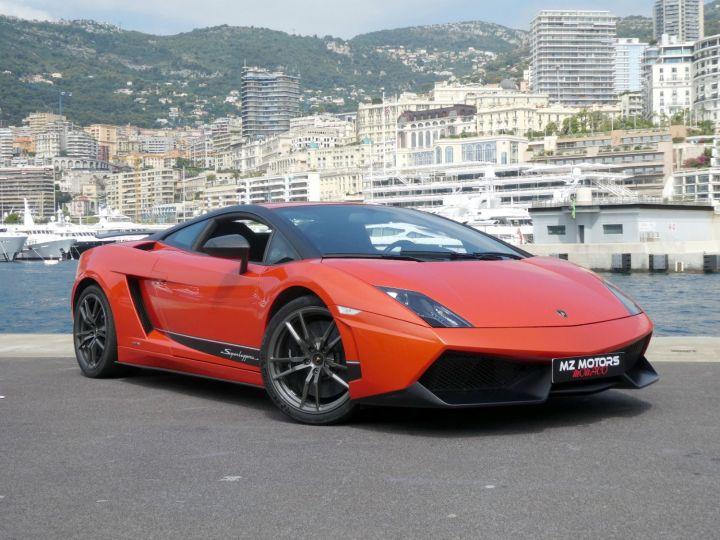 Lamborghini Gallardo 5.2 V10 SUPERLEGGERA LP570-4 EDIZIONE TECNICA E-GEAR Arancio Argos/nero Nemesis Occasion - 5