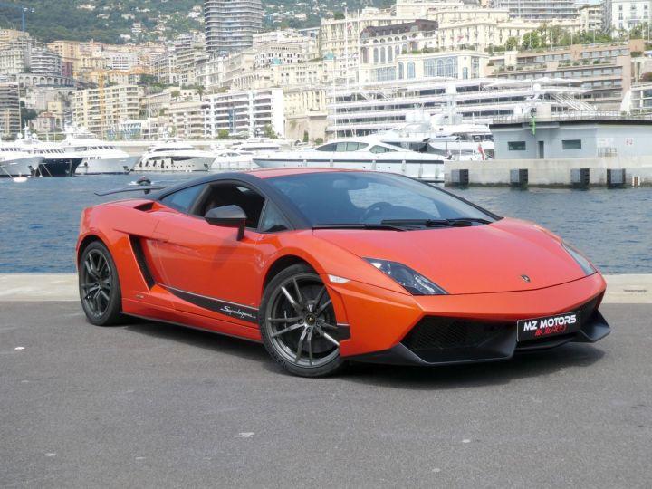 Lamborghini Gallardo 5.2 V10 SUPERLEGGERA LP570-4 EDIZIONE TECNICA E-GEAR Arancio Argos/nero Nemesis Occasion - 7