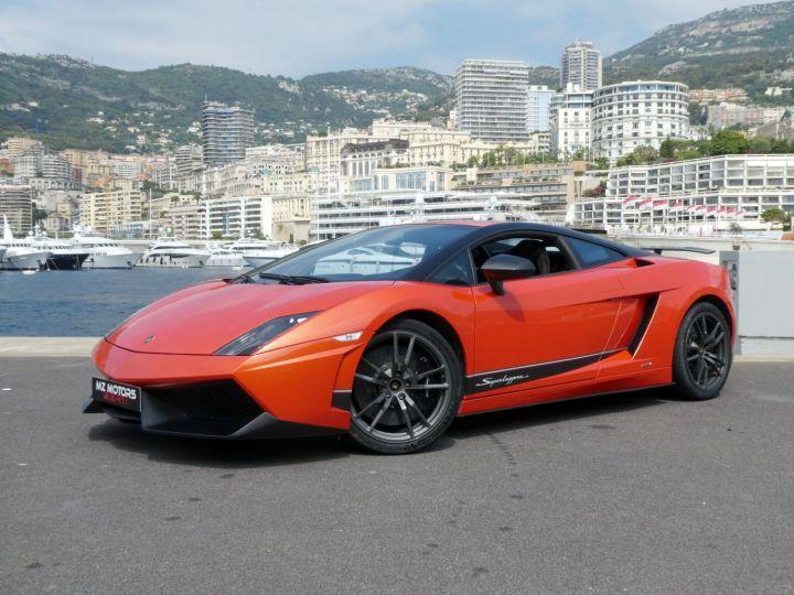 Lamborghini Gallardo 5.2 V10 SUPERLEGGERA LP570-4 EDIZIONE TECNICA E-GEAR Arancio Argos/nero Nemesis Occasion - 1