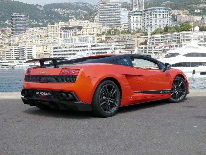 Lamborghini Gallardo 5.2 V10 SUPERLEGGERA LP570-4 EDIZIONE TECNICA E-GEAR Arancio Argos/nero Nemesis Occasion - 12