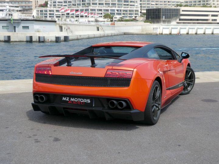Lamborghini Gallardo 5.2 V10 SUPERLEGGERA LP570-4 EDIZIONE TECNICA E-GEAR Arancio Argos/nero Nemesis Occasion - 13