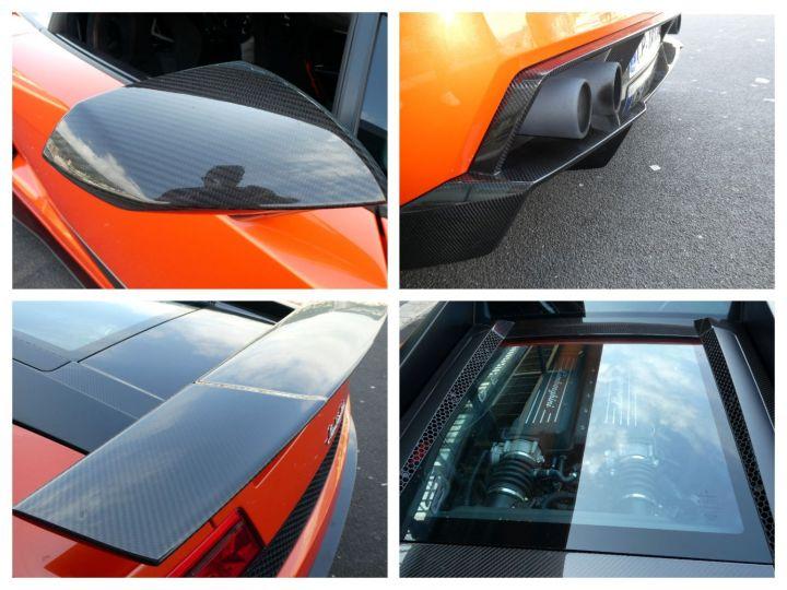 Lamborghini Gallardo 5.2 V10 SUPERLEGGERA LP570-4 EDIZIONE TECNICA E-GEAR Arancio Argos/nero Nemesis Occasion - 20