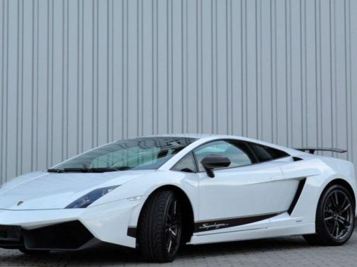 Lamborghini Gallardo LP570-4 Superleggera BLANC - 1