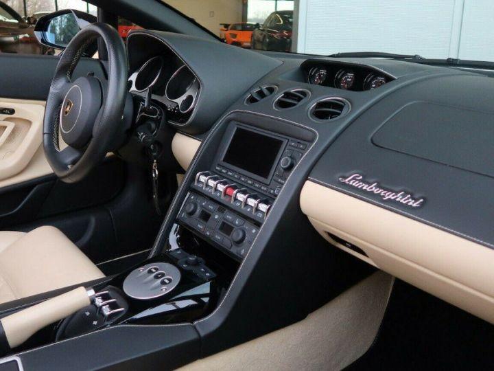 Lamborghini Gallardo SPYDER LP560-4 E-GEAR noir métal - 7