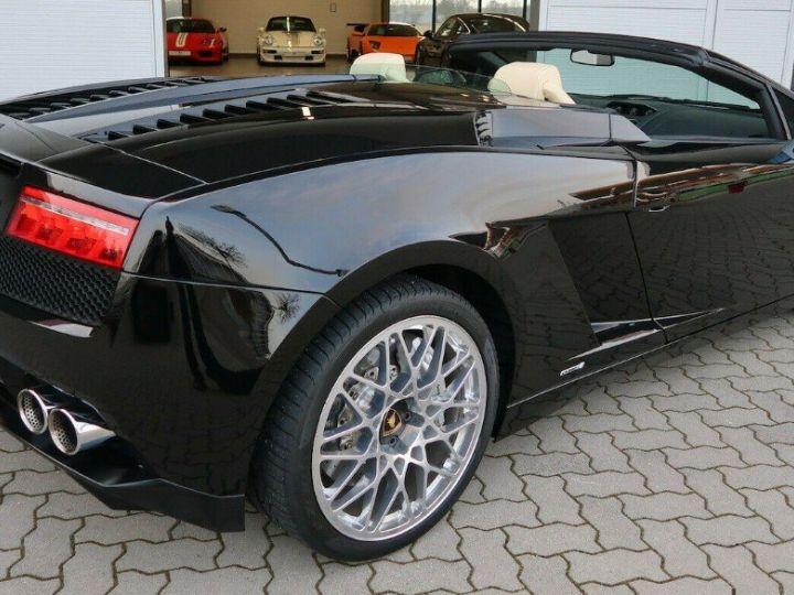 Lamborghini Gallardo SPYDER LP560-4 E-GEAR noir métal - 8
