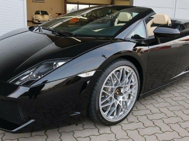 Lamborghini Gallardo SPYDER LP560-4 E-GEAR noir métal - 9