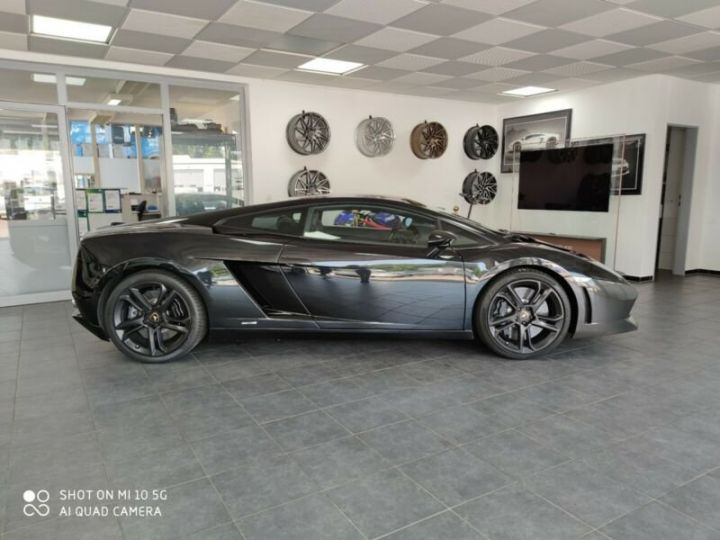 Lamborghini Gallardo Système de levage Lamborghini Gallardo LP560-4 noir cuir  - 1