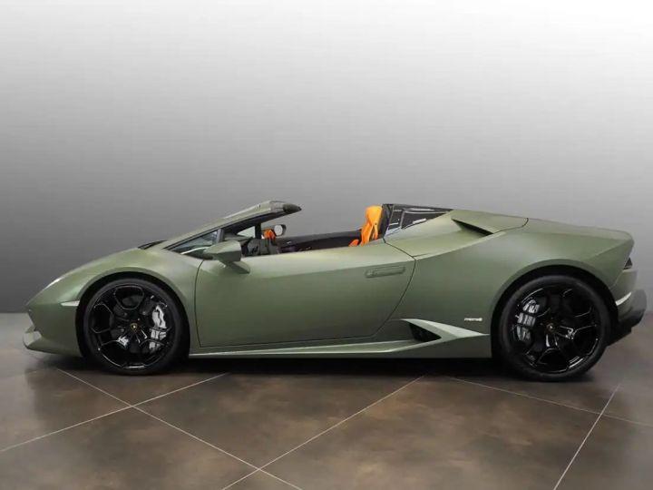 Lamborghini Huracan Verde Baca mat - 2