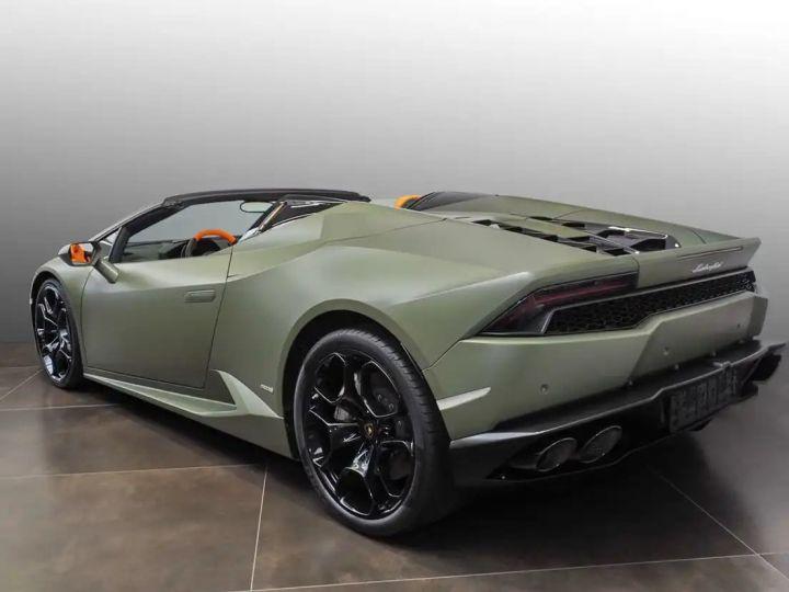 Lamborghini Huracan Verde Baca mat - 3