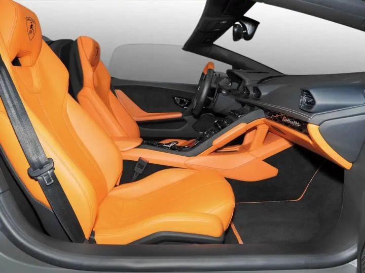 Lamborghini Huracan Verde Baca mat - 6