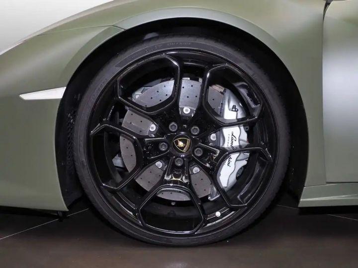 Lamborghini Huracan Verde Baca mat - 8