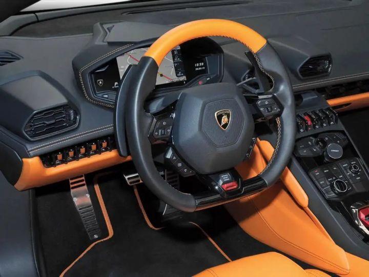 Lamborghini Huracan Verde Baca mat - 9