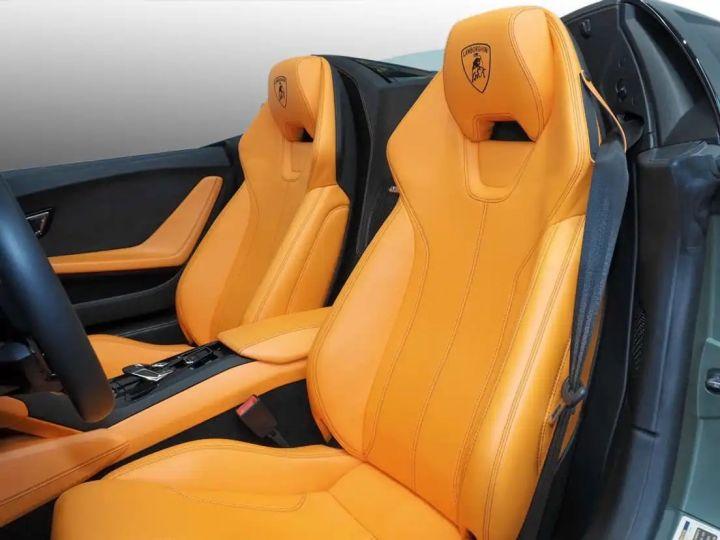 Lamborghini Huracan Verde Baca mat - 11