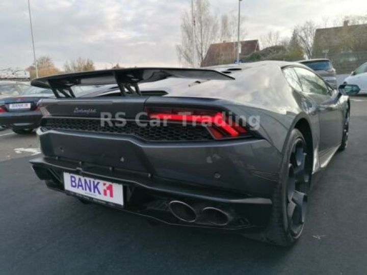 Lamborghini Huracan 5.2 V10 LP 610-4  Gris métallisée  - 4