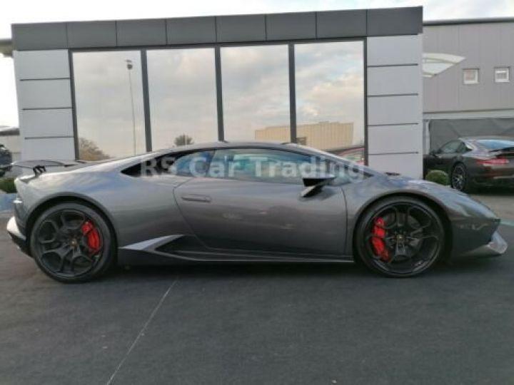 Lamborghini Huracan 5.2 V10 LP 610-4  Gris métallisée  - 7