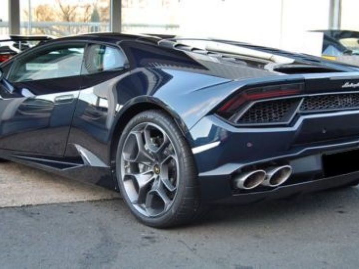 Lamborghini Huracan LP 580-2 BLEU Occasion - 6
