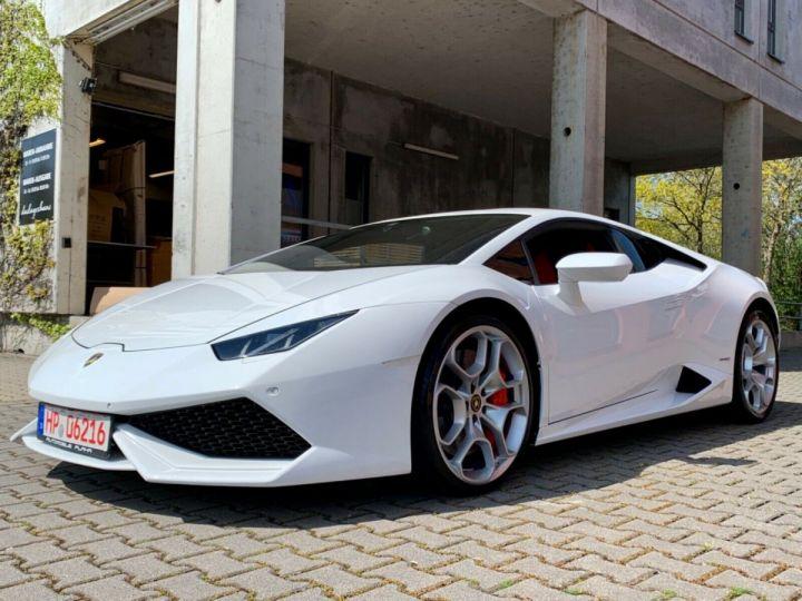 Lamborghini Huracan LP 610-4 BLANC - 12