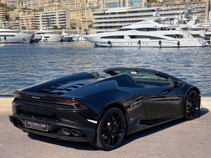 Lamborghini Huracan LP610-4 SPYDER 610 CV - MONACO Noir Noctis - 3