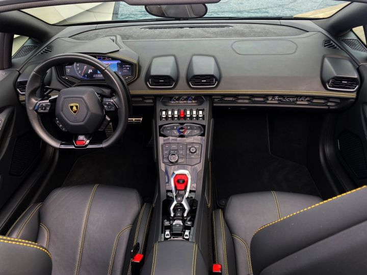 Lamborghini Huracan LP610-4 SPYDER 610 CV - MONACO Noir Noctis - 7