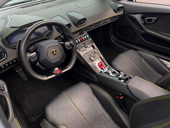 Lamborghini Huracan LP610-4 SPYDER 610 CV - MONACO Noir Noctis - 8