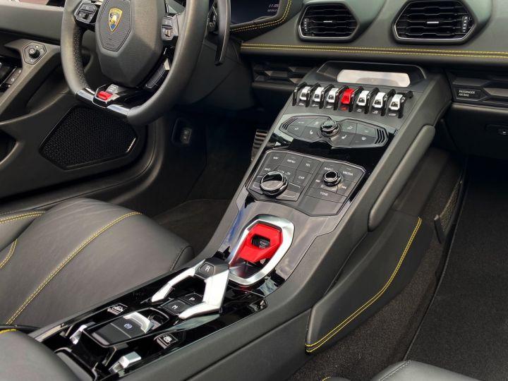 Lamborghini Huracan LP610-4 SPYDER 610 CV - MONACO Noir Noctis - 10