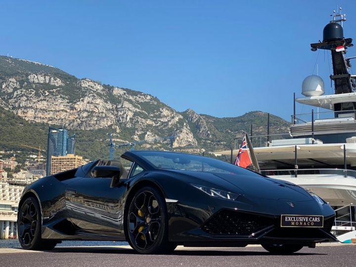 Lamborghini Huracan LP610-4 SPYDER 610 CV - MONACO Noir Noctis - 11
