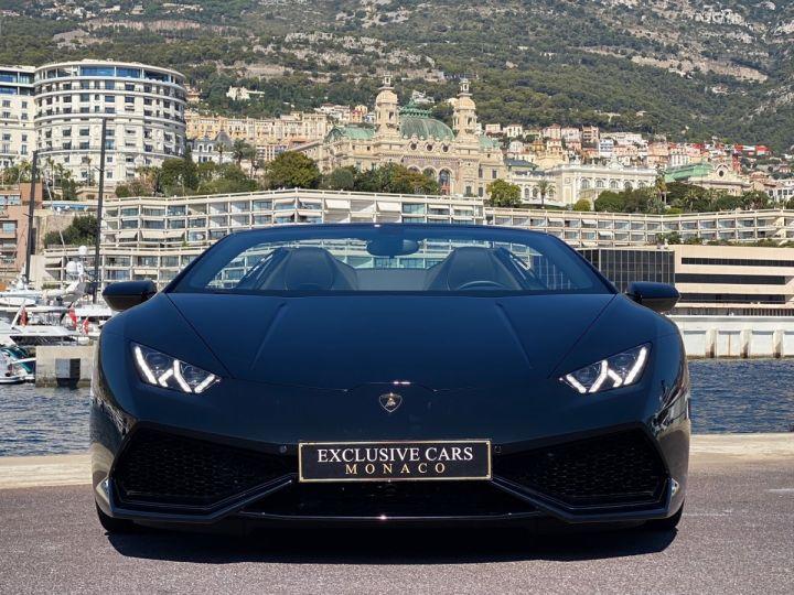 Lamborghini Huracan LP610-4 SPYDER 610 CV - MONACO Noir Noctis - 15