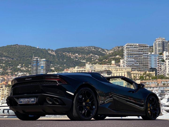 Lamborghini Huracan LP610-4 SPYDER 610 CV - MONACO Noir Noctis - 16