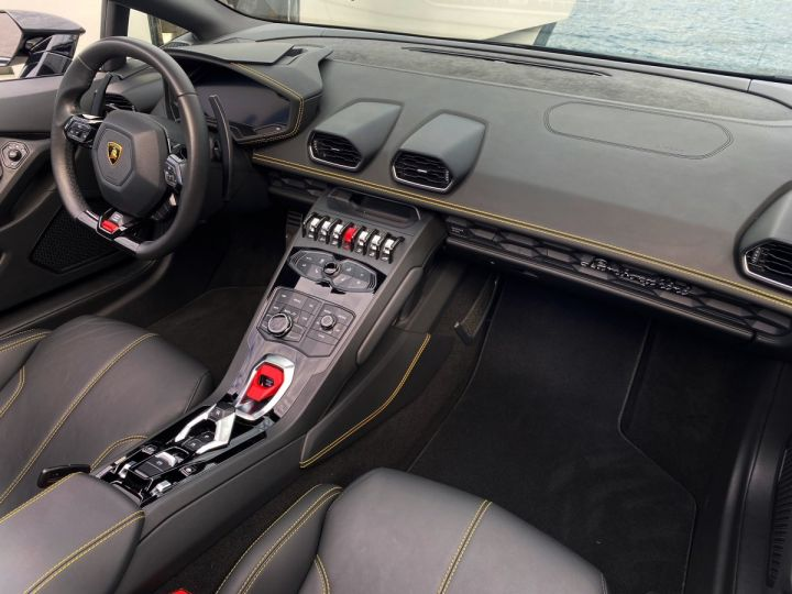 Lamborghini Huracan LP610-4 SPYDER 610 CV - MONACO Noir Noctis - 19