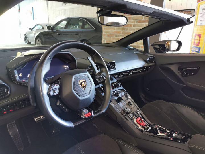 Lamborghini Huracan SPYDER LP 610-4 (TVA) Noir - 5