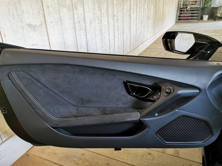 Lamborghini Huracan SPYDER LP 610-4 (TVA) Noir - 9