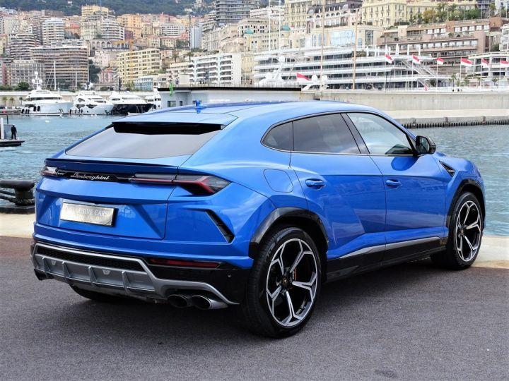 Lamborghini Urus 4.0 V8 650 CV - MONACO Bleu Eleos - 5