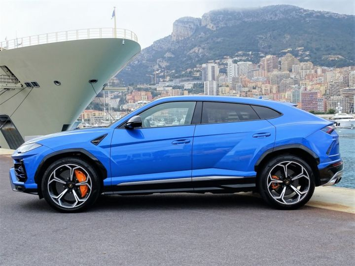 Lamborghini Urus 4.0 V8 650 CV - MONACO Bleu Eleos - 14