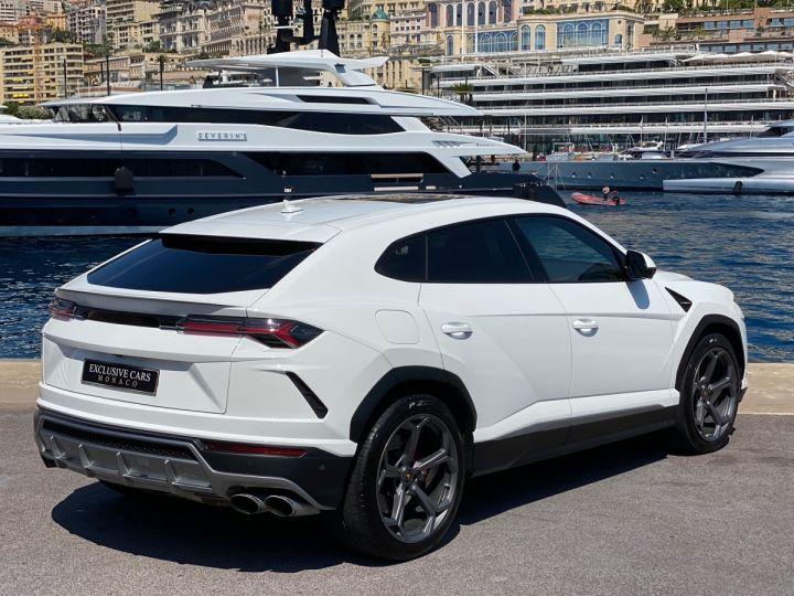 Lamborghini Urus 4.0 V8 650 CV - MONACO Blanc - 3