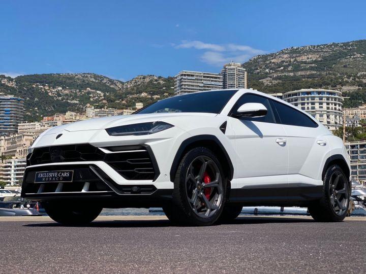 Lamborghini Urus 4.0 V8 650 CV - MONACO Blanc - 11