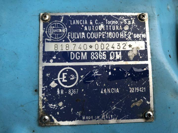 Lancia Fulvia HF 1.6 bleu fulvia - 18
