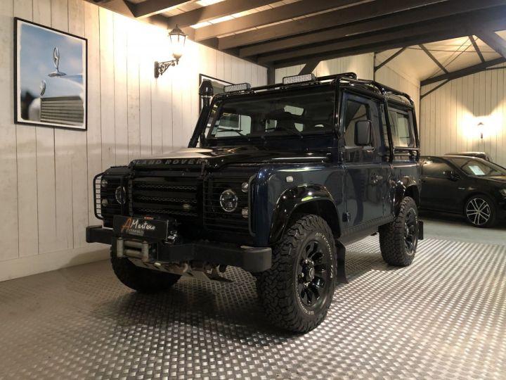 Land Rover Defender 90 E HARD TOP Bleu - 2