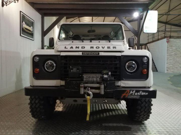 Land Rover Defender 90 TD HARD TOP S BV6 Blanc - 3